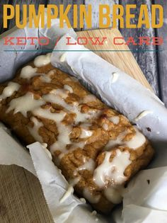 PUMPKIN BREAD {KETO / LOW CARB} | Tasty Food Recipes