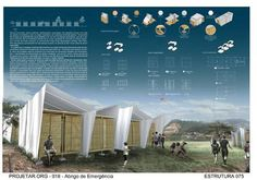 Concurso de Arquitetura | Abrigo de Emergência