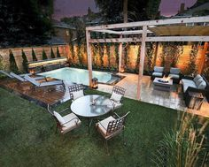 If you are lucky enough to have a backyard, you have many possibilities. Even when you have a small backyard you can still fit into a small pool. When you have a small backyard, you can still get i… Small Swimming Pools, Small Pools, Swimming Pool Designs, Small Backyards, Lap Pools, Small Backyard Design, Small Backyard Landscaping, Patio Design, Landscaping Ideas
