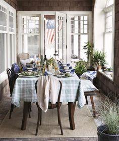 Lexington Tischdecke Grün · home go lucky