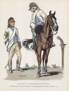 3rd Continental Light Dragoons US