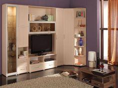 Шкафы стенки для гостиной представляют некую визитную карточку хозяев. Стенка со шкафом купе в гостиную может быть нужным дополнением к интерьеру, если в двери вставить зеркала.