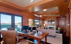 home+office+wood+paneled+library+cococozy+view+golden+gate+bridge+san+francisco+multi+million+dollar+estate+home.JPG (796×498)