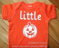 Little Pumpkin Bodysuit Perfect for Halloween & Thanksgiving on Etsy, $15.99
