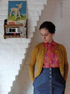 Mimosa Cardigan by tassadit | Project | Knitting / Cardigans & Sweaters | Kollabora