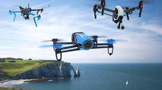 Parrot Bebop, DJI Inspire One, drone, quadcopter, Hi-Tech News-2015, Best Drones 2015, review, unboxing, test