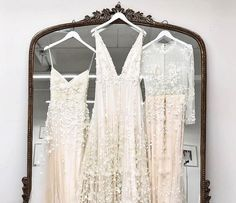 From boutique shops to one of the largest bridal stores in the world, the best places to find a wedding dress in New York City. - Over The Moon Bridal Dress Stores, Wedding Dress Shopping, Best Wedding Dresses, Bridal Dresses, Chic Wedding, Wedding Ideas, Bridal Salon, New York Wedding, Bridal Boutique