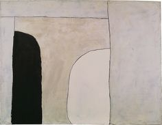 William Scott, Way In, 1963, Oil on canvas, 86.7 × 112 cm / 34¼ × 44 in, Private collection