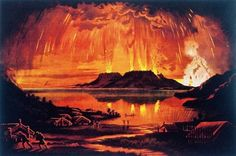 The eruption of Mount Tarawera