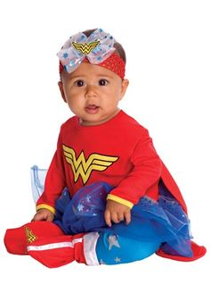 Wonder Woman Onesie... If Beanie is a girl...