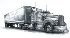 Image result for truck drawings