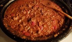 Recette: Sauce à spaghetti nourrissante.