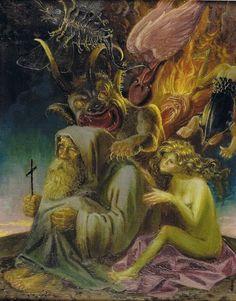 Otto Dix, Die Versuchung des heiligen Antonius
