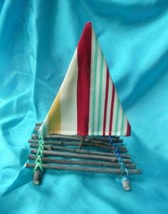 Twigs Raft Toy - Summer Play - Waldorf Inspired