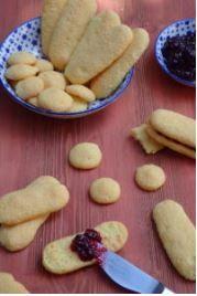 Domáce bezlepkové piškoty - Novalim Gluten Free Recipes, Glutenfree, Tiramisu, Almond, Food, Gluten Free, Sin Gluten, Almonds, Tiramisu Cake