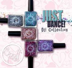 DJ! Just Dance! www.spellpolish.com