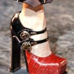 Louis Vuitton's square-toed Mary Janes