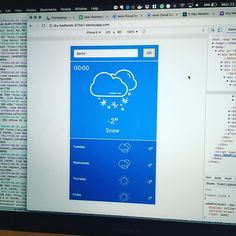 Life of a contractor looking for jobs = coding tests coming out of your ears. I'm learning to love the process though; it's stressful at times but it's an opportunity to grow your skills your portfolio and work on something completely outside of your normal sphere of work. Here's a simple little weather app I made using facebook's #React library  and a free weather API #magic #javascript #freelance #webdeveloper