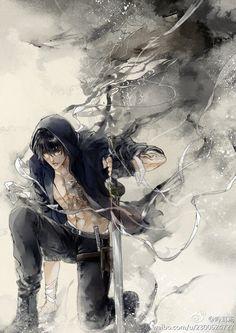 No larger size available Manga Boy, Manga Anime, Anime Art, Fantasy Male, Anime Fantasy, Fantasy Characters, Anime Characters, Male Character, Character Concept