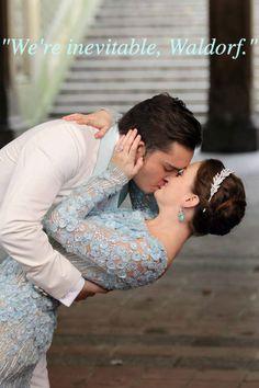 Chuck and Blair #gossipgirl #weddingday