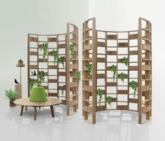 I have to stop shopping for cheap knockoffs-- they're almost expensive as the originals but of poorer quality!!  Screens | Complementary furniture | Green Wall curve | Deesawat | ... Check it out on Architonic