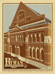 The Ryman Auditorium - (This is a 2nd Edition Print) The Ryman Auditorium first opened its doors in 1892 as place to hold revival meetings, thanks to the generosity of Captain Thomas G. Ryman. With the coming of the Grand Ole Opry show in 1943, the Ryman found its identity as the Mother Church of Country Music. Musicians ranging from Roy Acuff to James Brown and Patsy Cline to Sheryl Crow have per...