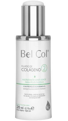 Hidratante Anti Idade Bel Col Fluido de Colágeno 2 Peles Oleosas