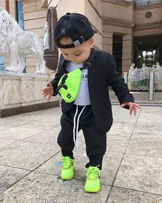 or - Style bestpin Cute Baby Boy Outfits, Cool Baby Clothes, Baby Boy Dress, Toddler Boy Outfits, Cute Outfits For Kids, Toddler Boys, Cute Kids Fashion, Little Boy Fashion, Baby Boy Fashion