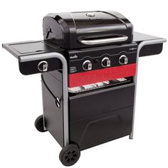 Amazon.com : Char-Broil Gas2Coal 3-Burner Liquid Propane and Charcoal Hybrid Grill : Garden & Outdoor