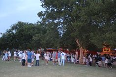 Parties and Events at Benbrook Stables All Saints Homecoming Bonfire