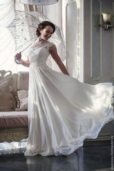 Свадебное платье - бежевый, свадебное платье, свадебное платье айвори, свадебное платье кружева