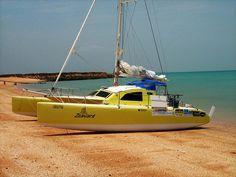 Surtees Multihull Designs - Trailerable Multihulls - Catamarans and Trimarans