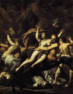 Karel Dujardin - The Battle of Centaurs and Lapiths at Hippodamia's Wedding (Stiftung Preussische Schlösser und Garten, Potsdam)