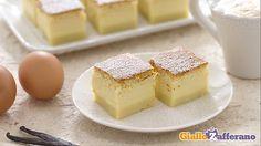 Torta magica a tre strati (versione vaniglia e versione cacao)