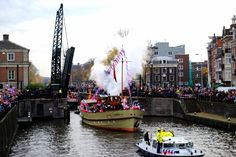 Sinterklaas arrival Amsterdam, read about it in our latest  blog post!
