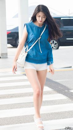 AOA Seolhyun Airport Fashion | Official Korean Fashion