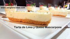 Sergio Benito Recetas: Tarta de Lima y Queso Mascarpone/Aprende a Elaborar la Tarta del Verano