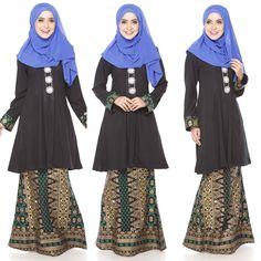 Fesyen Baju Kurung Moden Terkini 2016 2017 Design By Zolace  Two