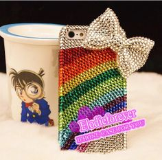 Cute iPhone case Luxury iPhone 5 case Rainbow by Elodieforever, $28.99