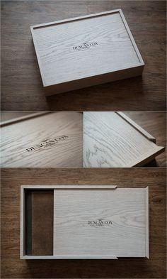 Graphistudio White Oak Wooden Box - Laser Engraved
