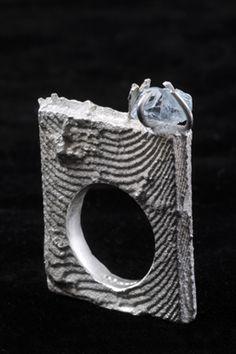 Ring by Marianna Hadass.