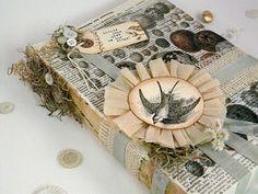 pretty bird themed packaging.  #WoodlandChristmas #WoodlandEaster