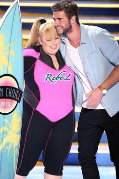 Liam Hemsworth - Inside the 2013 Teen Choice Awards