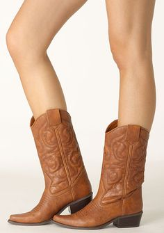 cow girl boots. ;)