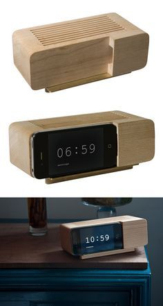 Retro Style Alarm Dock for iPhone