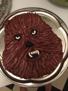 Chewbacca - at least I tried... Pretty happy with the result
