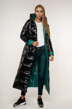 Langer Mantel, Puffer Jackets, Editorial Fashion, Russia, Duster Coat, Kimono Top, Jackets For Women, Sexy, Cotton