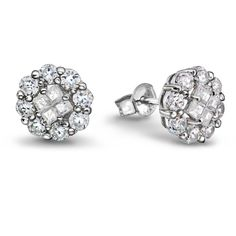 Ørepynt i sølv med zirkonia Diamond Earrings, Engagement Rings, Jewelry, Enagement Rings, Wedding Rings, Jewlery, Jewerly, Schmuck, Jewels