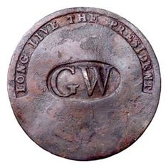"George Washington wore the first political button in 1789 at his first inauguration in New York. He and many others present wore the buttons made of brass and proudly reading ""GW - Long Live The President"", modeling the phrase, ""Long Live The King""."