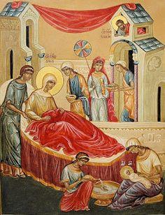 Oraciones de la liturgia bizantina para la Natividad de María